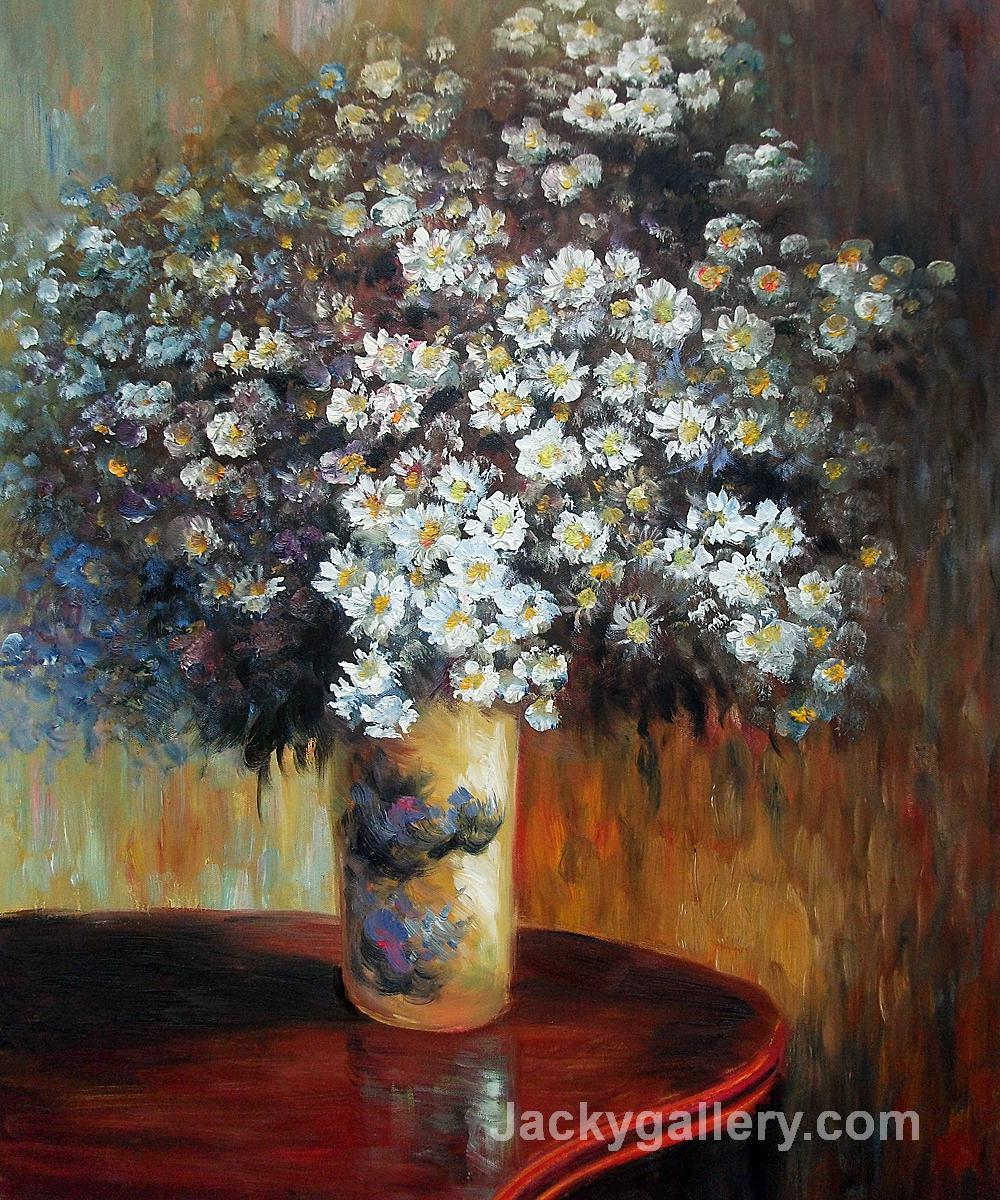 Asters by Gustav Klimt paintings reproduction