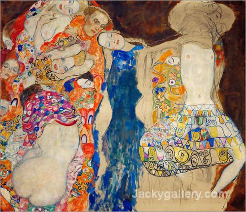 Die Braut by Gustav Klimt paintings reproduction