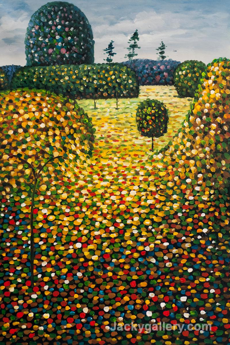 Field of Poppies by Gustav Klimt paintings reproduction