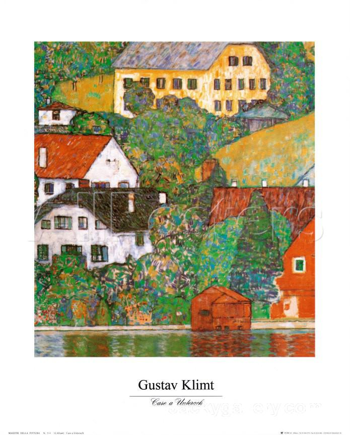 Edge of a wheat field with poppies and a lark by vincent for Gustav klimt original paintings for sale