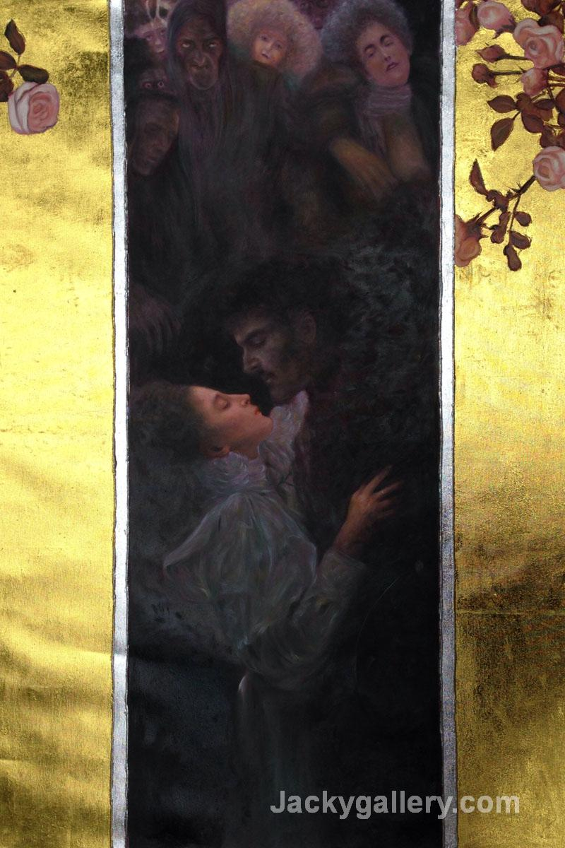 Love (Luxury Line) by Gustav Klimt paintings reproduction