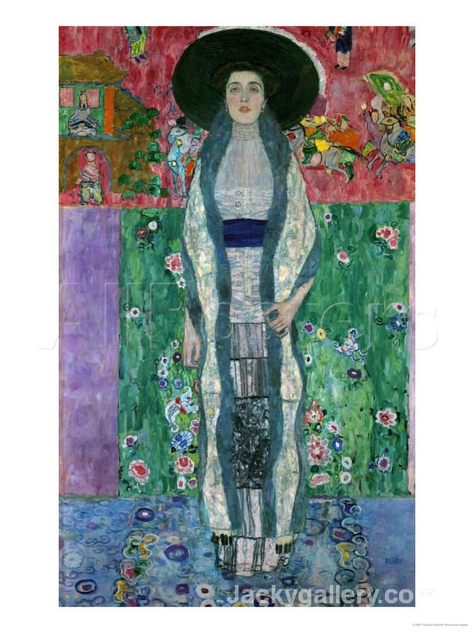 MRS, ADELE BLOCH BAUER II, CIRCA by Gustav Klimt paintings reproduction