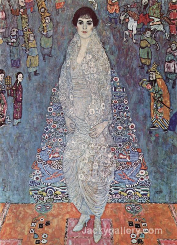 Portrait of Baroness Elisabeth Bachofen-Echt- by Gustav Klimt paintings reproduction