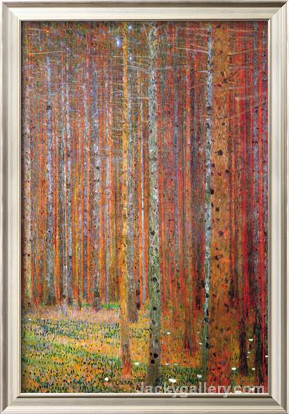 Tannenwald by Gustav Klimt paintings reproduction