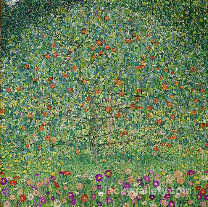 The Apple Tree I by Gustav Klimt paintings reproduction