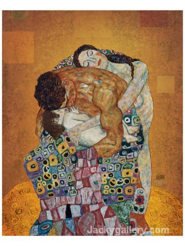 The Family by Gustav Klimt paintings reproduction