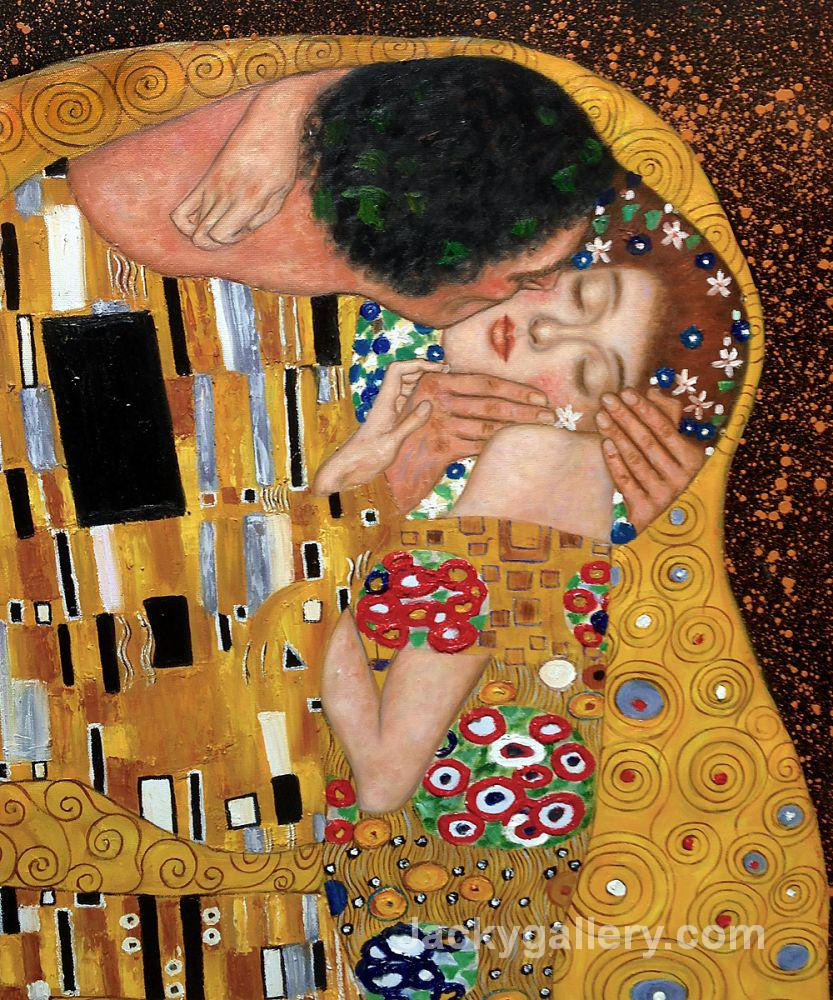 The Kiss II by Gustav Klimt paintings reproduction