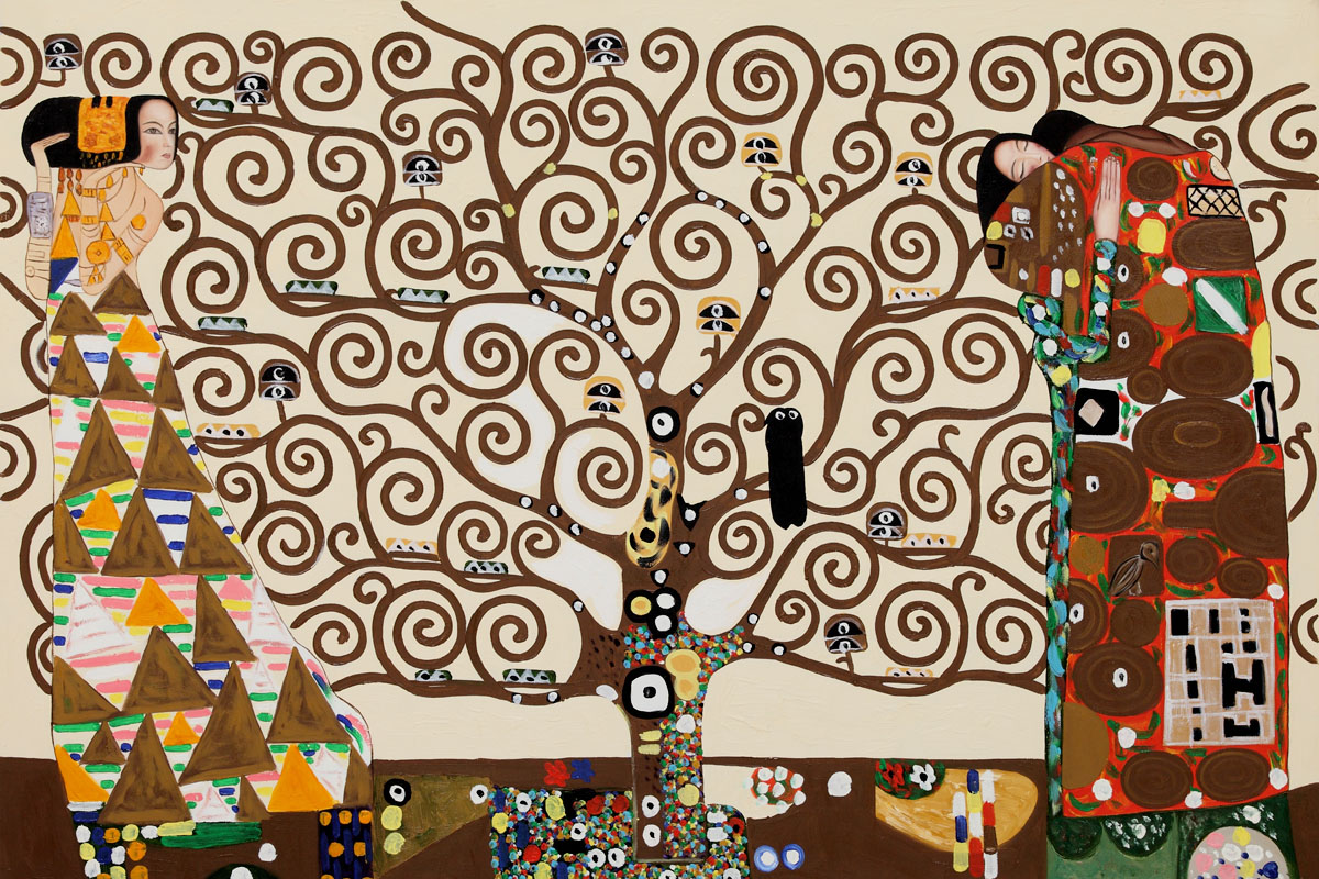 The Tree of Life, Stoclet Frieze, 1909 by Gustav Klimt