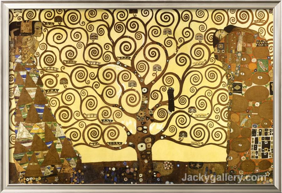The Tree of Life by Gustav Klimt paintings reproduction