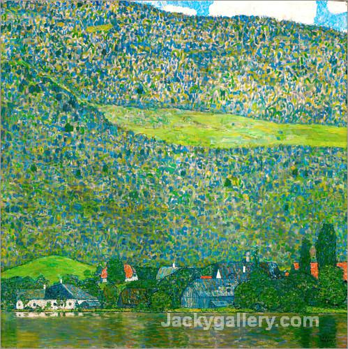 Unterach am Attersee by Gustav Klimt paintings reproduction