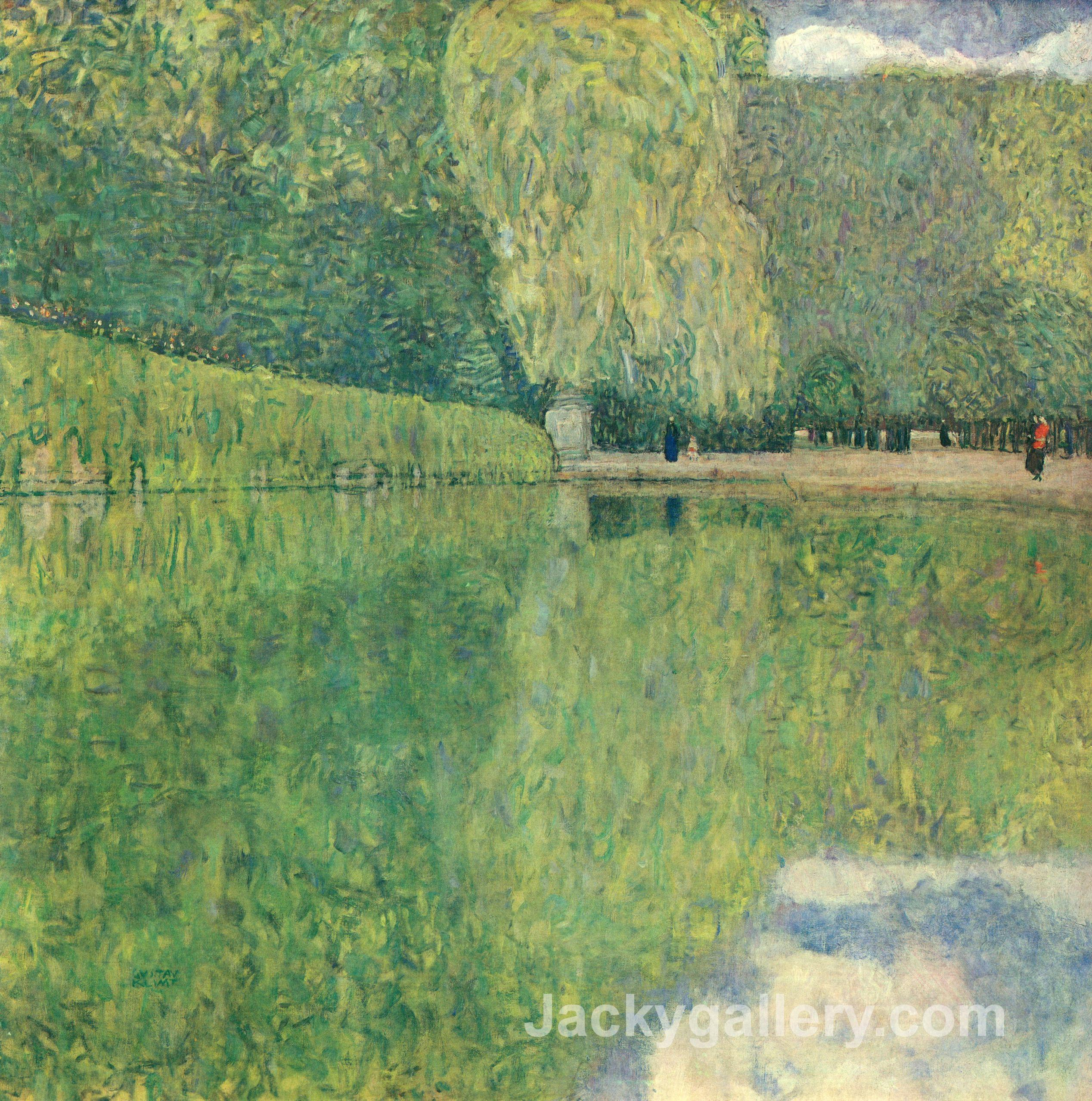 park of schonbrunn by Gustav Klimt paintings reproduction