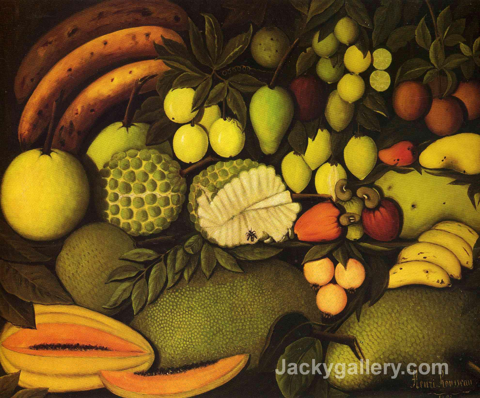 by Henri Rousseau paintings reproduction