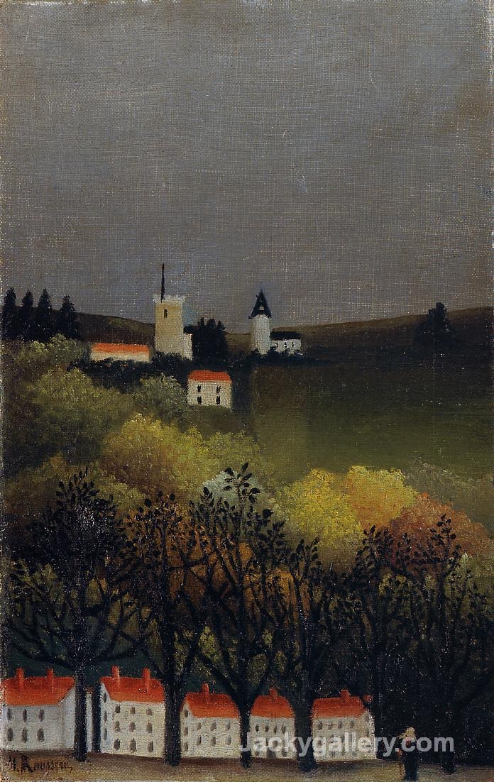 Landscape by Henri Rousseau paintings reproduction