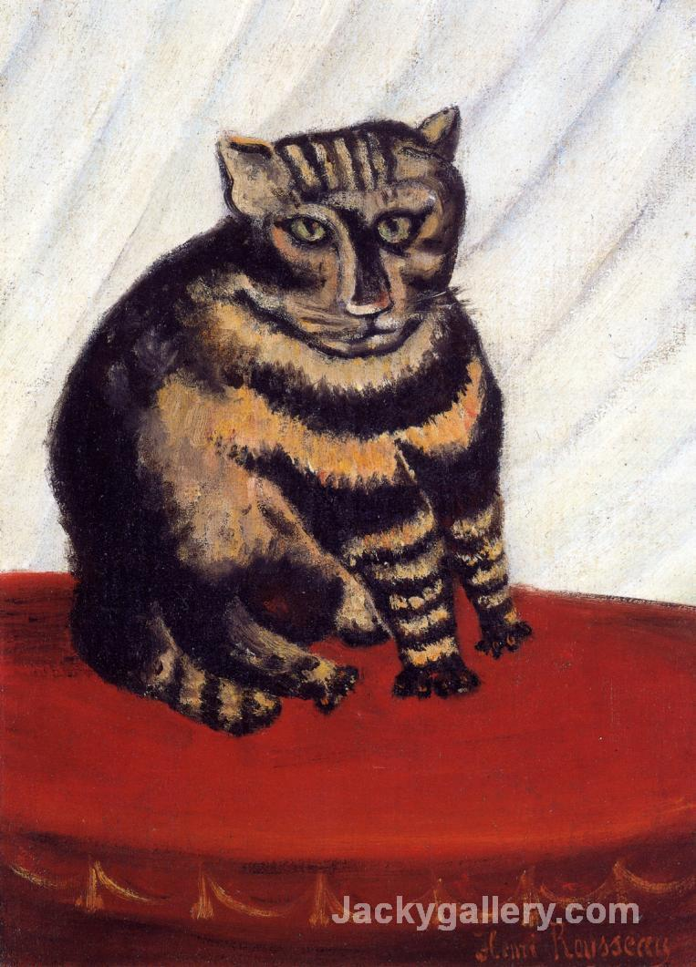 The Tiger Cat by Henri Rousseau paintings reproduction