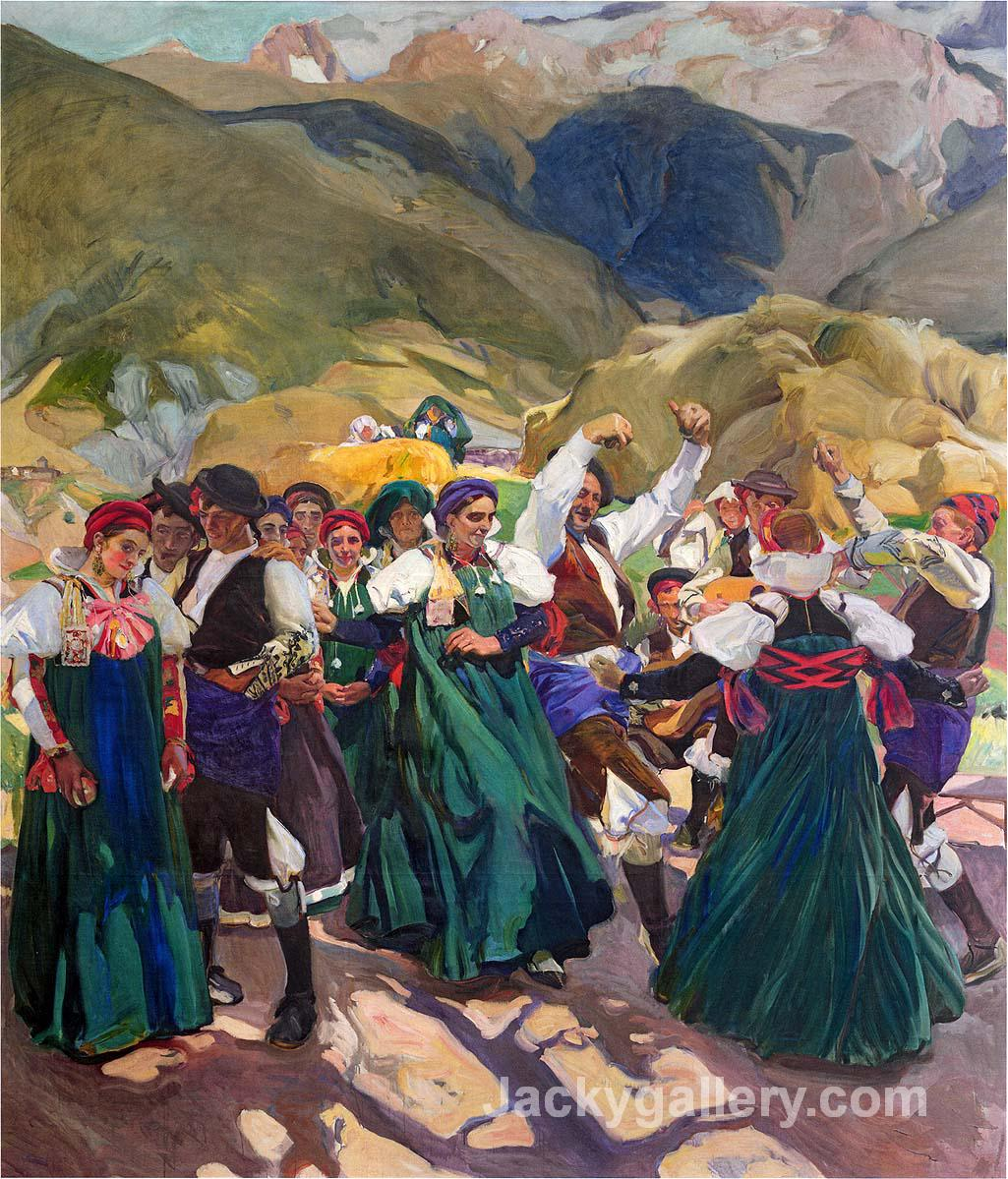 Aragon, Jota by Joaquin Sorolla y Bastida paintings reproduction