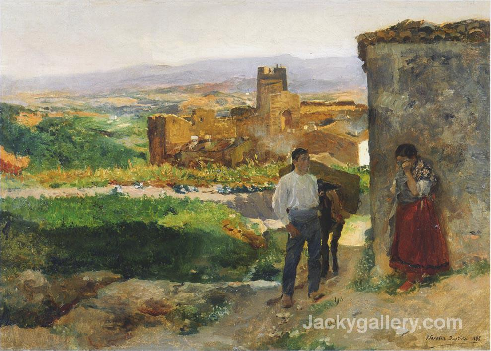 Ruins of Bunol by Joaquin Sorolla y Bastida paintings reproduction