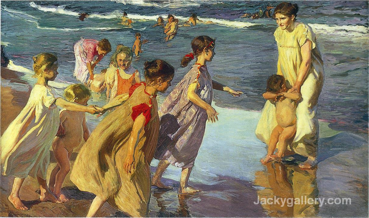 Summer by Joaquin Sorolla y Bastida paintings reproduction