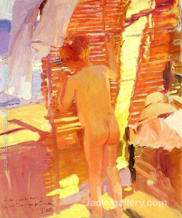 The Inquisitive Child by Joaquin Sorolla y Bastida paintings reproduction