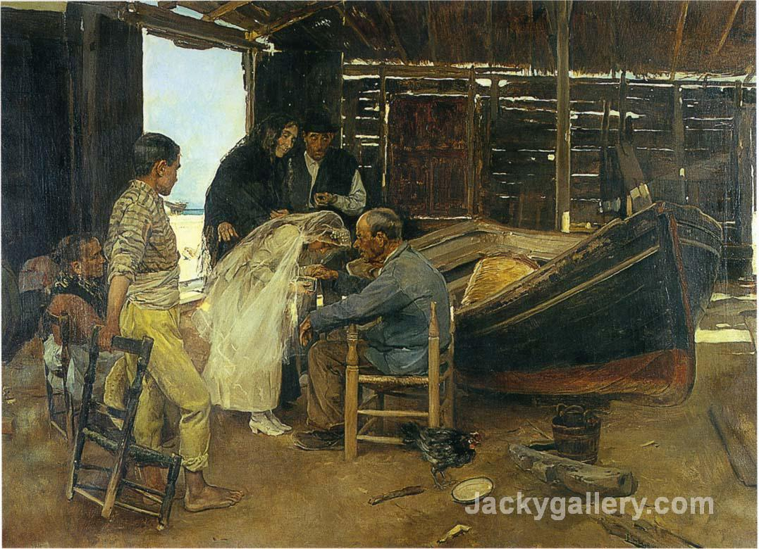 The happy day by Joaquin Sorolla y Bastida paintings reproduction