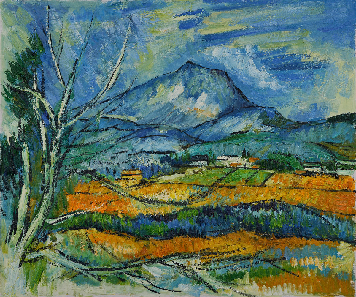 La Mont Sainte Victoire by Paul Cezanne