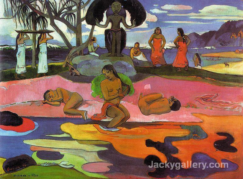 Day of the Gods by Paul Gauguin paintings reproduction