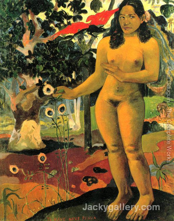 Herrliches Land (Te nave nave fenua) by Paul Gauguin paintings reproduction