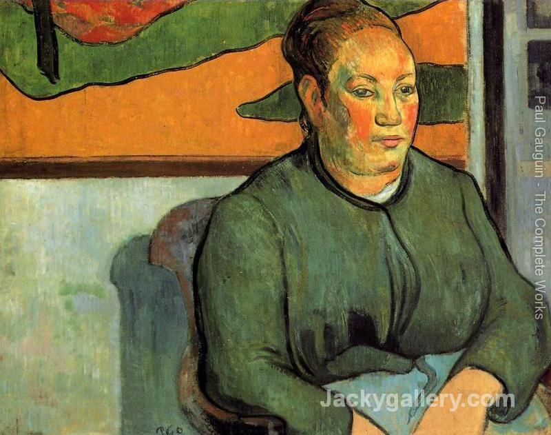 Madame Roulin by Paul Gauguin paintings reproduction