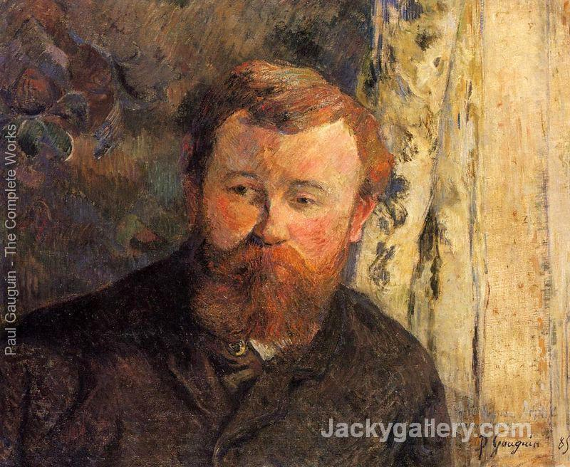 Portrait Of Achille Granchi Taylor by Paul Gauguin paintings reproduction