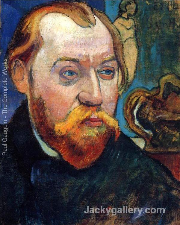 Portrait Of Louis Roy by Paul Gauguin paintings reproduction