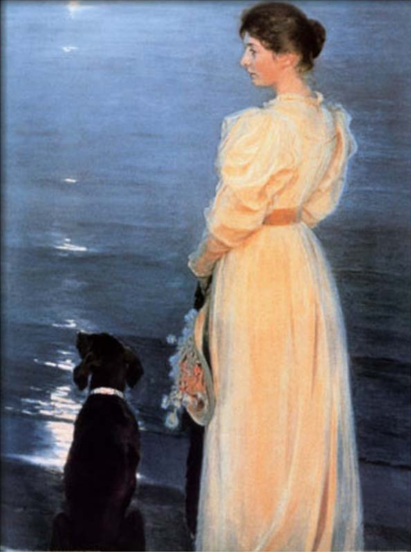 Summer Evening at Skagen by Peder Severin Kroyer paintings reproduction