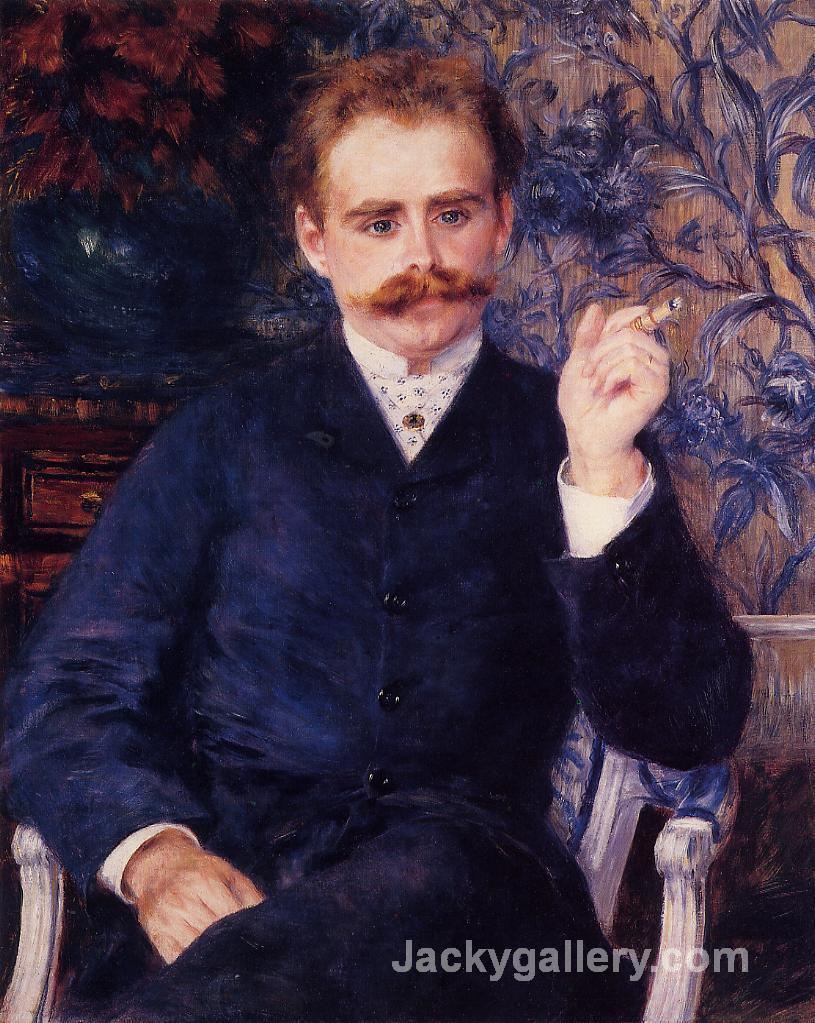 Albert Cahen d Anvers by Pierre Auguste Renoir paintings reproduction