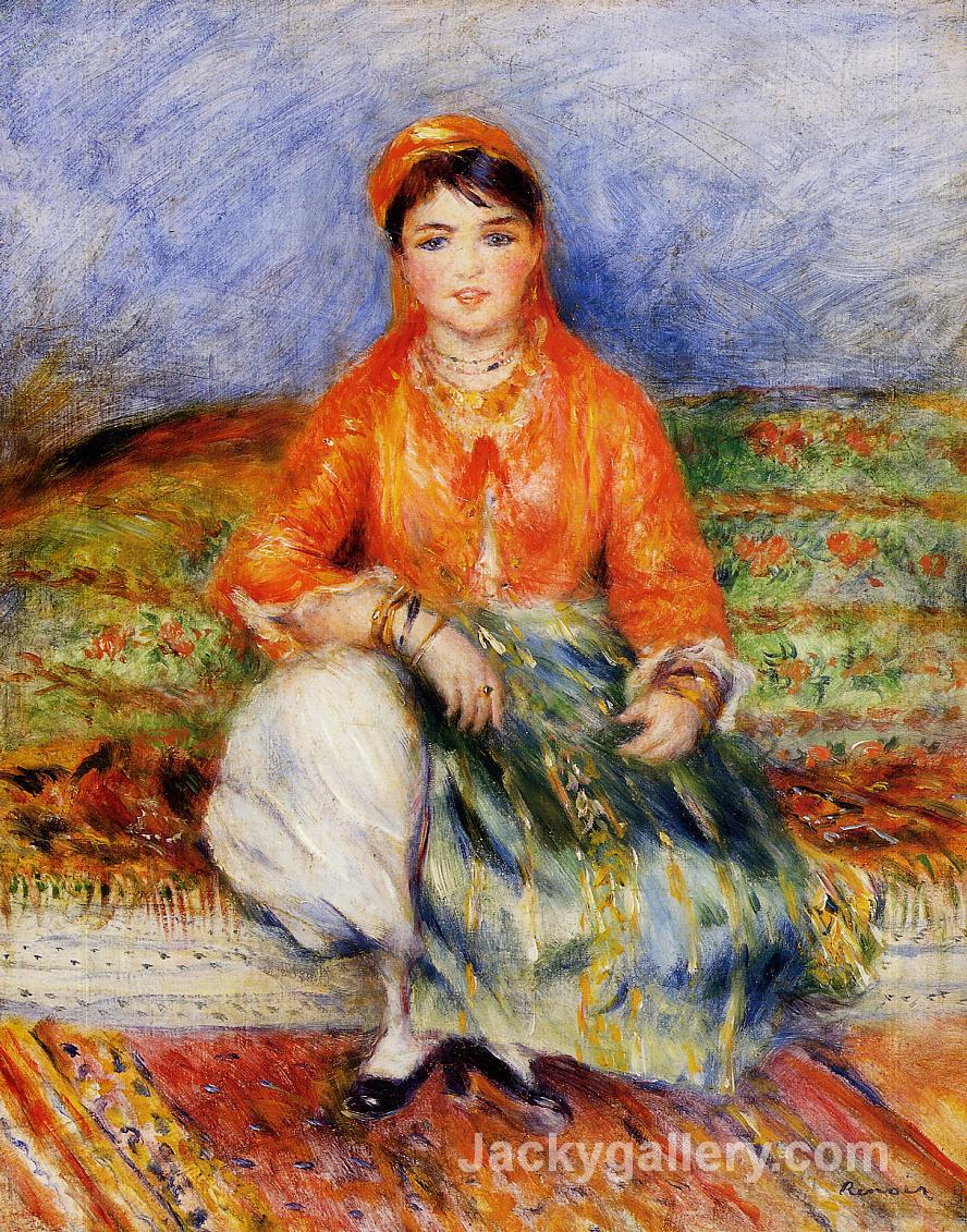 Algerian Girl by Pierre Auguste Renoir paintings reproduction