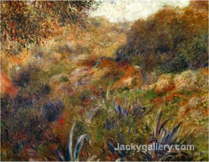 Algerian Landscape the Gorge of the Femme Sauvage by Pierre Auguste Renoir paintings reproduction