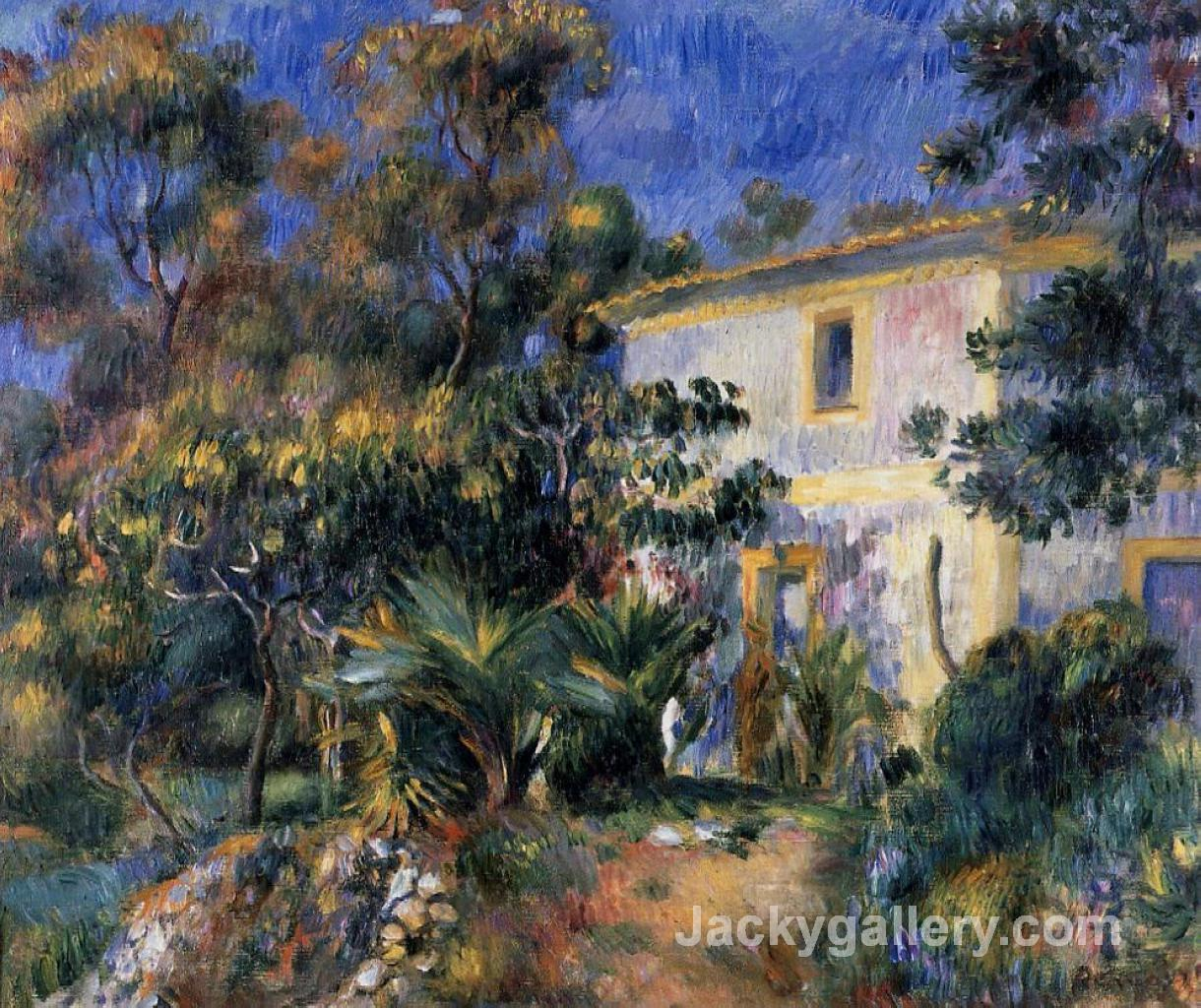 Algiers Landscape by Pierre Auguste Renoir paintings reproduction