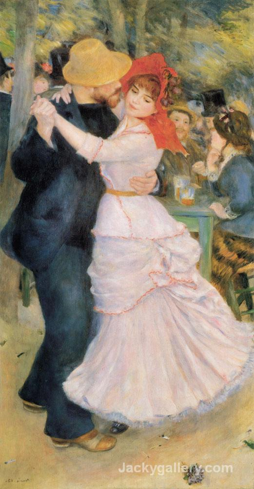 Dance at Bougival Original by Pierre Auguste Renoir paintings reproduction