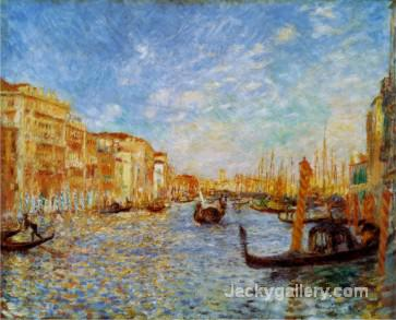 Grand Canal Venice by Pierre Auguste Renoir paintings reproduction