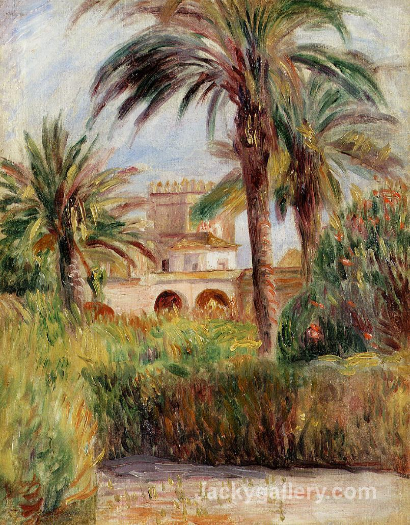 The Test Garden in Algiers by Pierre Auguste Renoir paintings reproduction