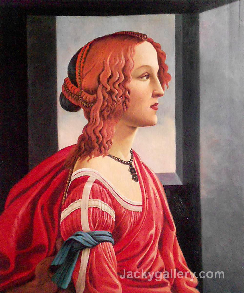 Simonetta by Sandro Botticelli paintings reproduction
