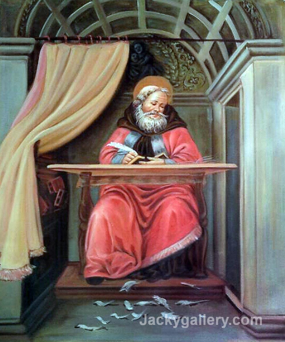 St. Augustine in his cell by Sandro Botticelli paintings reproduction