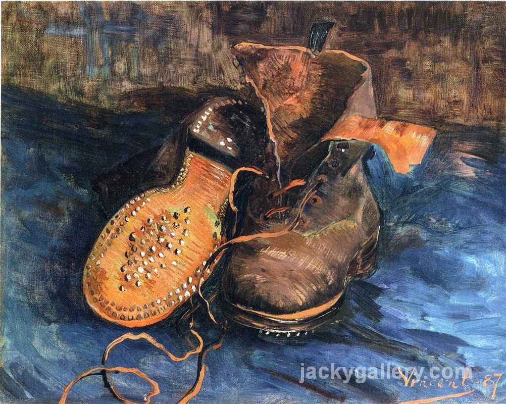 A Pair of Shoes, Van Gogh painting