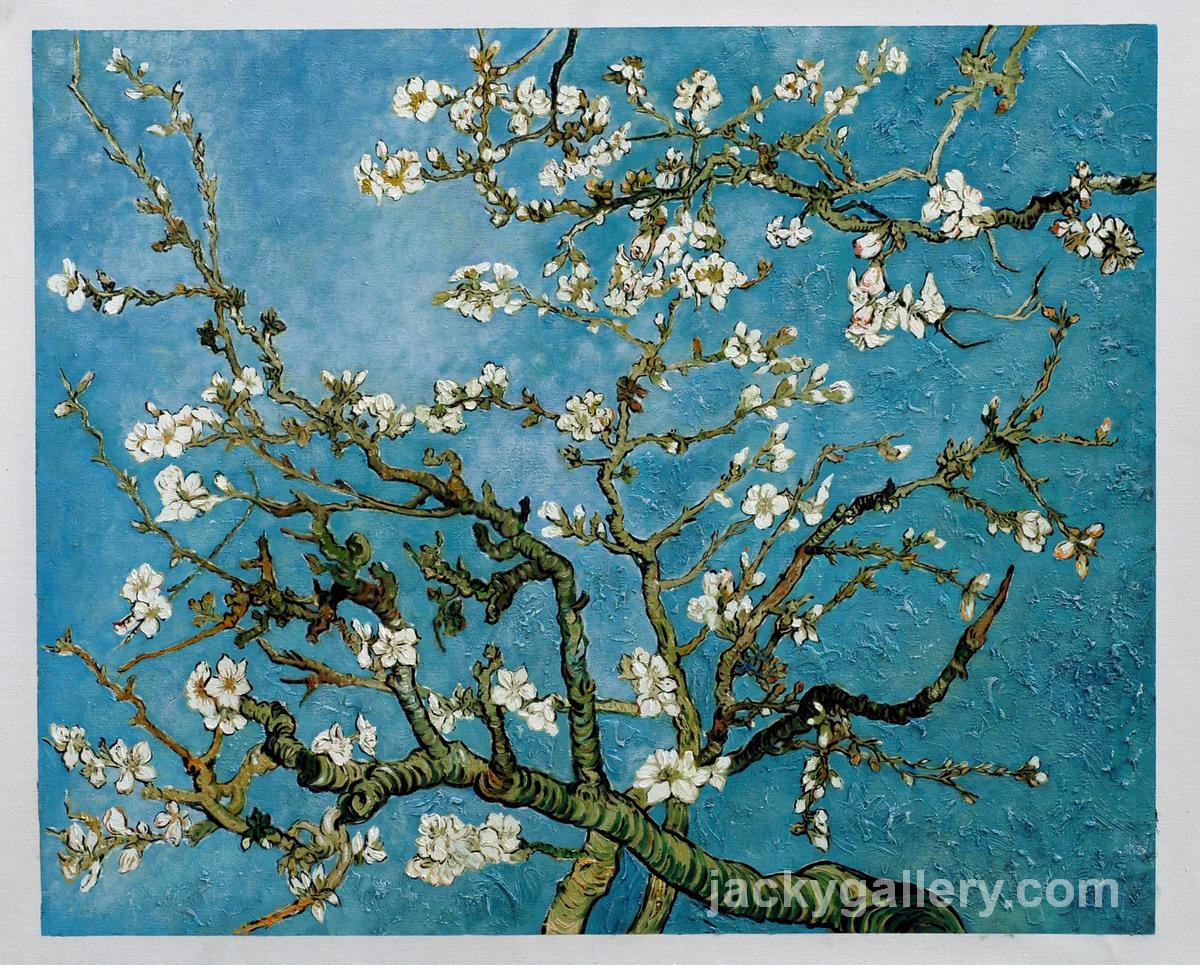 Almond Blossom, Vincent Van Gogh high quality hand-painted oil ... for Almond Blossom Van Gogh Poster  70ref
