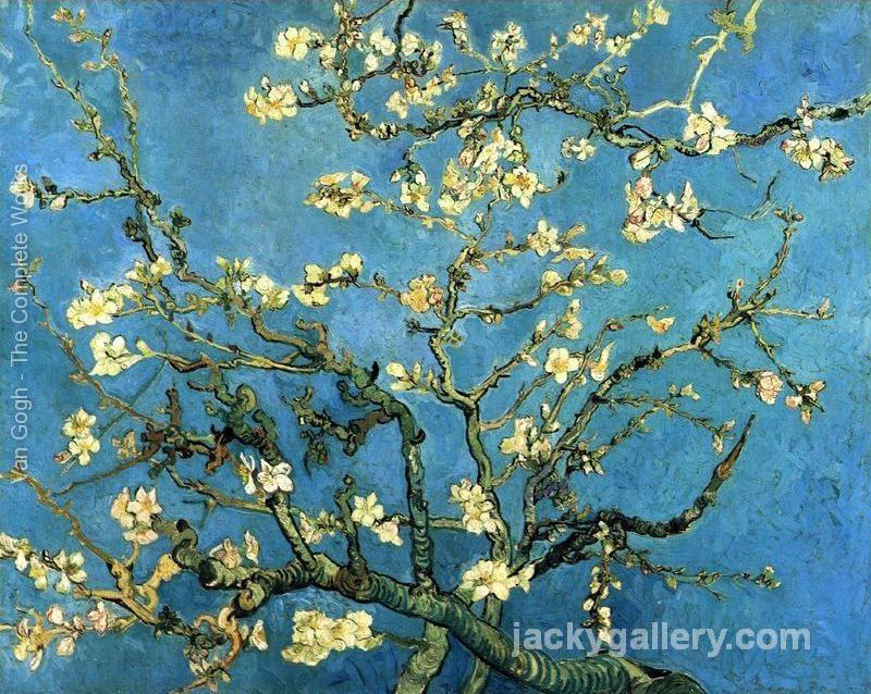 Branches with Almond Blossom, Van Gogh painting