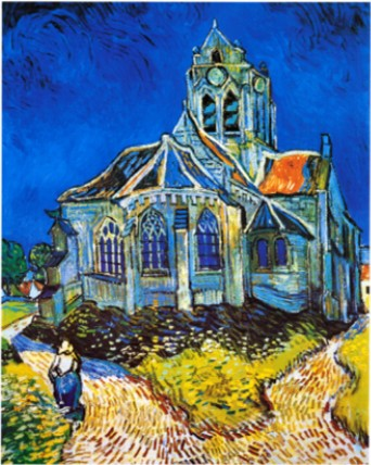 Church At Auvers, C.1896 By Vincent Van Gogh