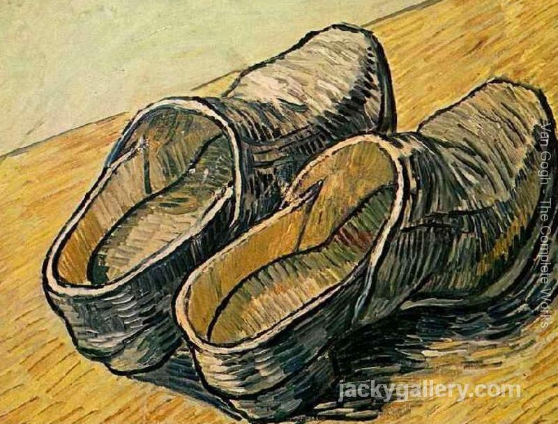 Pair Of Leather Clogs A, Van Gogh painting