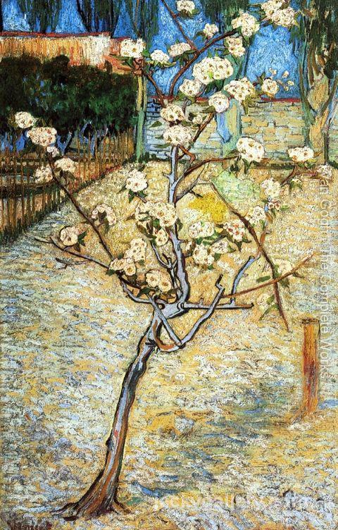 Pear Tree in Blossom, Van Gogh painting