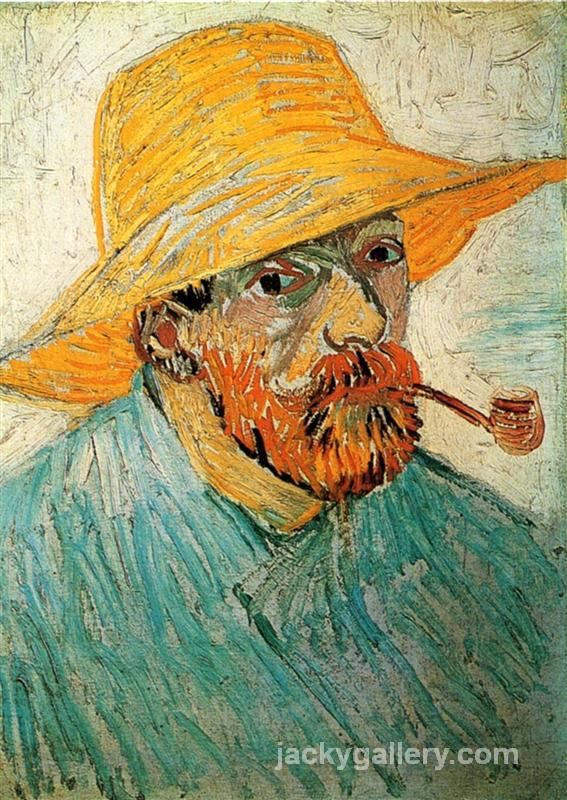 Self Portrait, Van Gogh painting