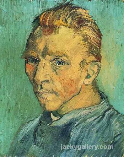 Self-portrait without beard, Van Gogh painting