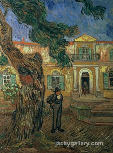 St. Pauls Hospital, St Remy, Van Gogh painting