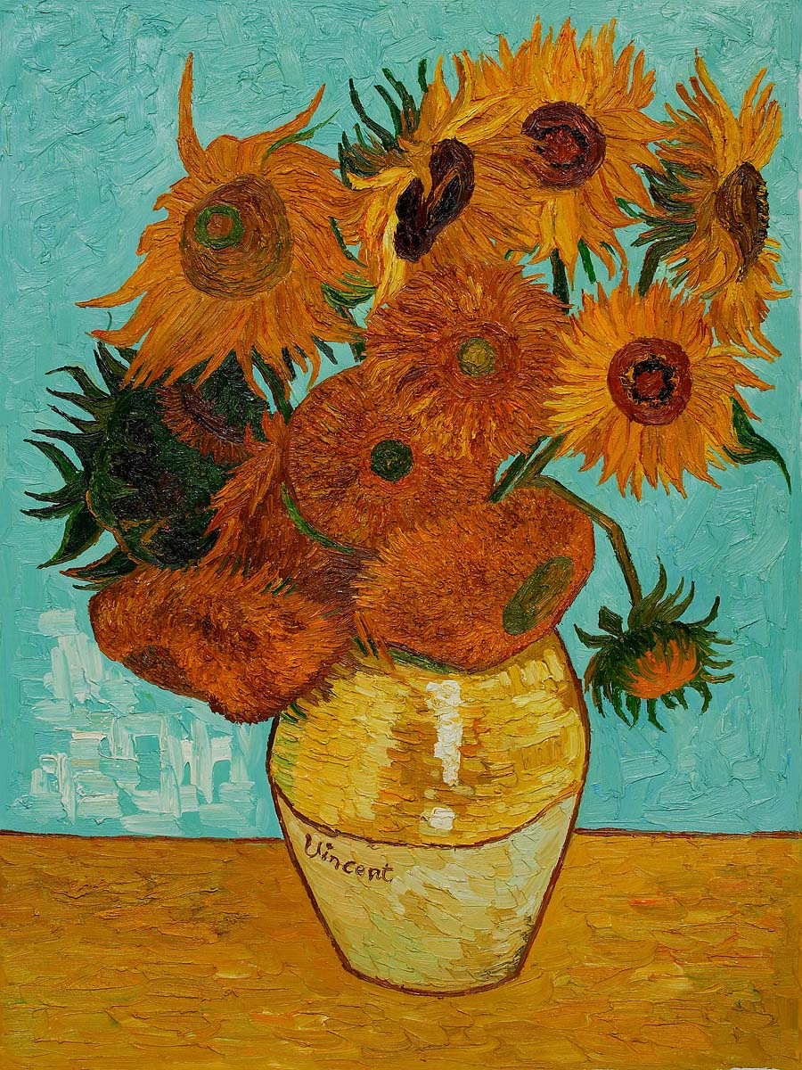 Sunflowers by Vincent Van Gogh for sale : Jacky Gallery ...