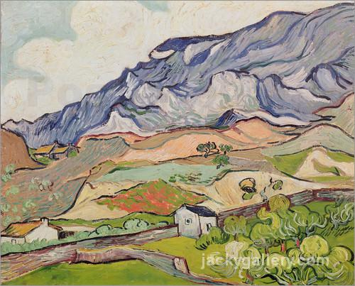 The Alpilles, Van Gogh painting